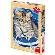 Mačiatko v modrej topánke - Puzzle