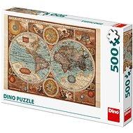 Mapa sveta z r. 1626 - Puzzle