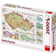 Mapy Českej republiky - Puzzle