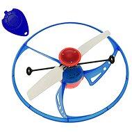 Lietajúce UFO modré - Vrtuľník