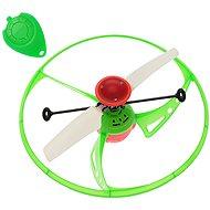 Lietajúce UFO zelené - Vrtuľník