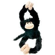 Opica – čierna - Plyšová hračka
