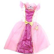 Šaty pre princeznú - ružové - Detský kostým