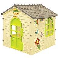 Záhradný domček malý s kvietkami - Detský domček