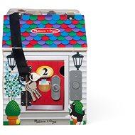 Domček so zvončekmi a odomykaním zámkov - Detská hra