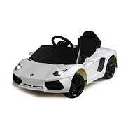 Jamara Lamborghini Aventador biele - Detské elektrické auto