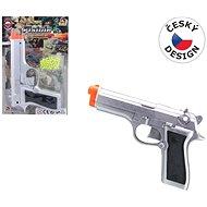 Guľôčková pištoľ plast - Detská pištoľ