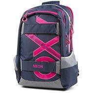 5ccb23eff9 OXY Sport Blue Line Pink - Školský batoh