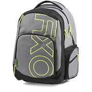 OXY Style GREY LINE Green - Školský batoh