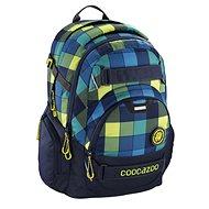 Coocazoo CarryLarry2 Lime District - Školský batoh