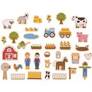 Bigjigs Toys Magnets Farm - Children's bedroom decoration