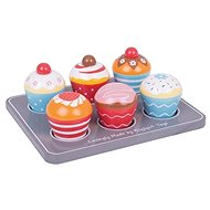 Bigjigs Toys Muffiny - Drevená hračka