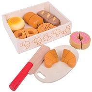 Bigjigs Toys Krájenie pečiva v krabičke - Drevená hračka