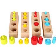 Small Foot Vkladacie závažia farebné - Didaktická hračka
