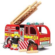 Le Toy Van Hasičské vozidlo s príslušenstvom - Drevená hračka