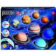 3D puzzle Ravensburger 3D 116683 Planetárna sústava - 3D puzzle