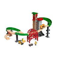 Brio World 33887 Súprava Sklad so zdvíhacím a nakladacím zariadením - Vláčikodráha