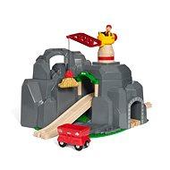 Brio World 33889 Žeriav a horský tunel - Stavebnica