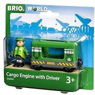 Brio World 33894 Nákladná lokomotíva so strojvedúcim - Stavebnica