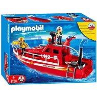 Playmobil 3128 Hasičská loď s vodným delom - Stavebnica
