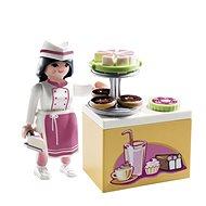 Playmobil 9097 Cukrárka s kuchynkou - Stavebnica