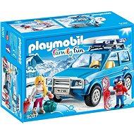 Playmobil 9281 Auto so strešným boxom - Stavebnica