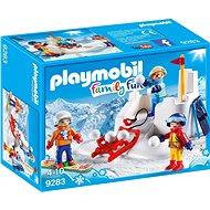 Playmobil 9283 Snehová bitka - Stavebnica