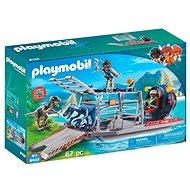 Playmobil 9433 Čln s klietkou na dinosaury