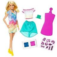 Barbie D.I.Y. Crayola s módnou potlačou – Beloška - Bábika