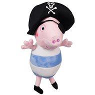 Plyšová hračka Peppa Pig George pirát