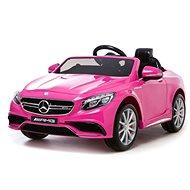 Mercedes-Benz S63 AMG - růžové - Detské elektrické auto