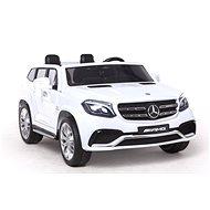 Mercedes-Benz GLS 63 - biele - Detské elektrické auto