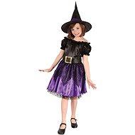 Šaty na karneval – Čarodejnica veľ. M - Detský kostým