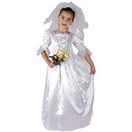 Šaty na karneval - Nevesta veľ. M - Detský kostým