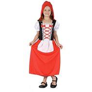 Šaty na karneval - Červená čiapočka veľ. S - Detský kostým