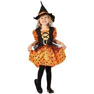 Šaty na karneval - Čarodejnica veľ. XS - Detský kostým