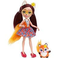 Enchantimals Panenka se zvířátkem Felicity Fox - Bábika