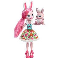 Enchantimals Bábika so zvieratkom Bree Bunny - Bábika