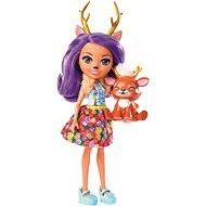 Enchantimals Panenka se zvířátkem Danessa deer