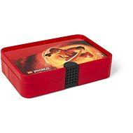 LEGO Ninjago Úložný box s priehradkami - červený - Úložný box