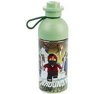 LEGO Ninjago fľaša transparentná 0,5 l – army zelená - Fľaša na vodu