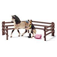 Schleich 42270 Péče o koně Andalusianského - Súprava figúrok
