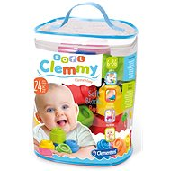 Clementoni Clemmy baby – 24 kociek v plastovom vrecku - Stavebnica