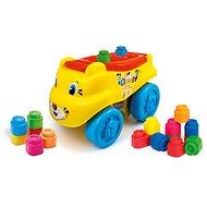 Clementoni Clemmy baby – Tiger vagón s kockami - Auto
