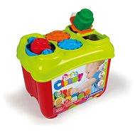 Clementoni Clemmy baby - Aktívne vedierko s prestrkávacími tvarmi - Didaktická hračka
