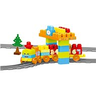 DOLU Detská vlaková súprava, 58 ks - Stavebnica