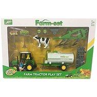 Farmárska súprava Traktor s cisternou - Súprava figúrok