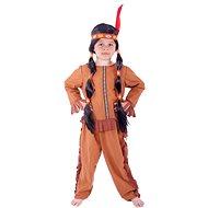 Rappa Indián so strapcami, veľ. S - Detský kostým