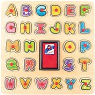 Didaktická hračka Woody Pečiatky/Puzzle ABC - Didaktická hračka