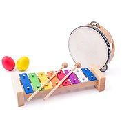 Woody Hudobná súprava B - Hudobná hračka